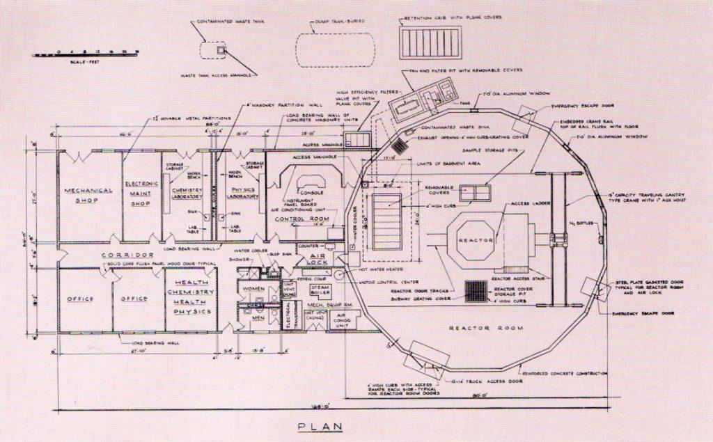 jaderná energie - Bazénové reaktory – větší plány, lepší vybavení - Fotografie (Vitro pool reactor diagram) 5