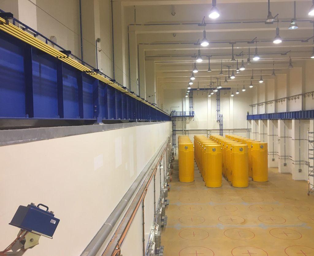 jaderná energie - Soud musí opět řešit sklad v Temelíně, původně vyhověl aktivistům - V Česku (aktualne je v temelinskem skladu 34 kontejneru s pouzitym palivem ktere jsou pod dohledem kamery mezinarodni agentury pro atomovou energii) 1