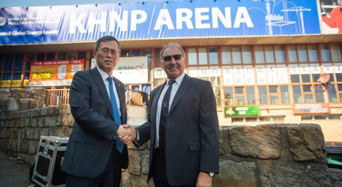 KHNP se stala generálním partnerem hokejového klubu SK Horácká Slavia Třebíč