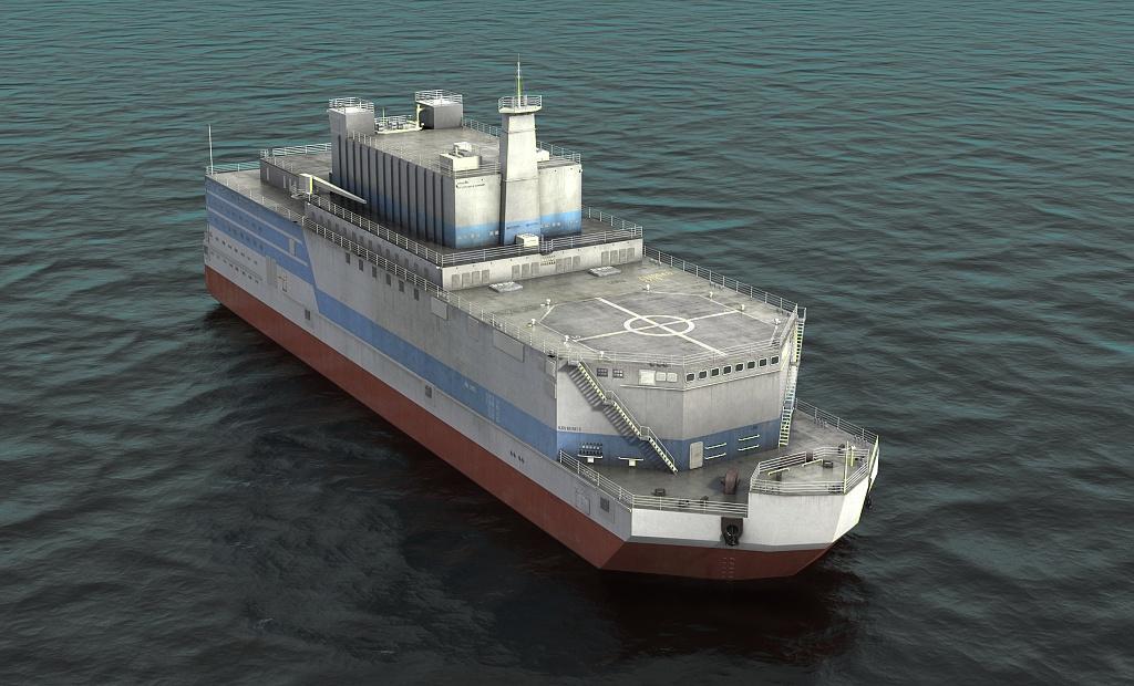 Plovoucí jaderné elektrárny budou reálným byznysem