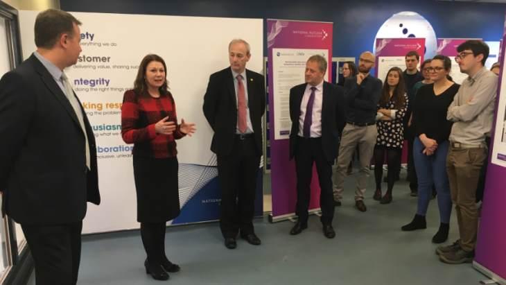 Otevření nového centra pro decommissioning ve Spojeném království