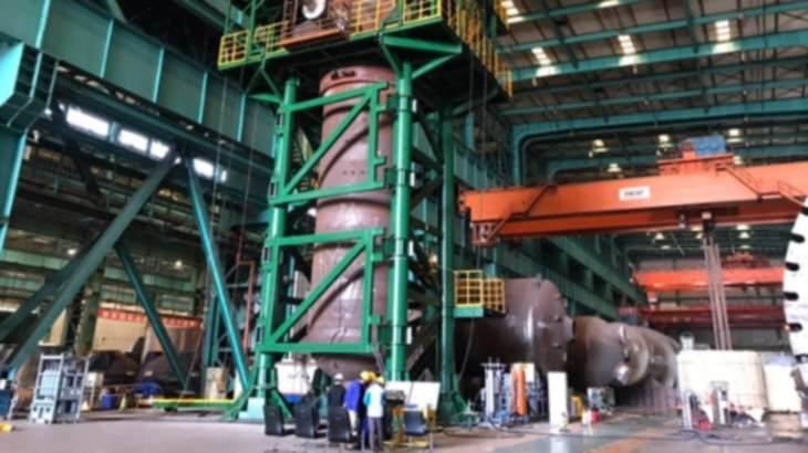 jaderná energie - Parogenerátor na HTR-PM prošel tlakovými testy - Nové bloky ve světě (HTGR steam generator testing CNNC) 1