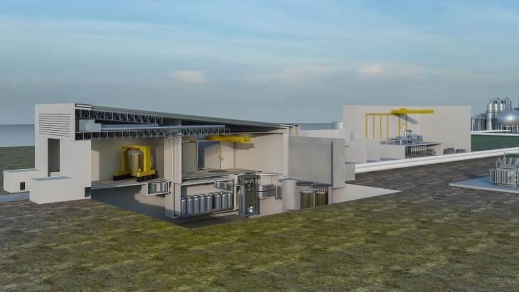 jaderná energie - Začátek druhé části kontroly kanadského projektu IMSR - Zprávy (IMSR plant Terrestrial Energy) 1