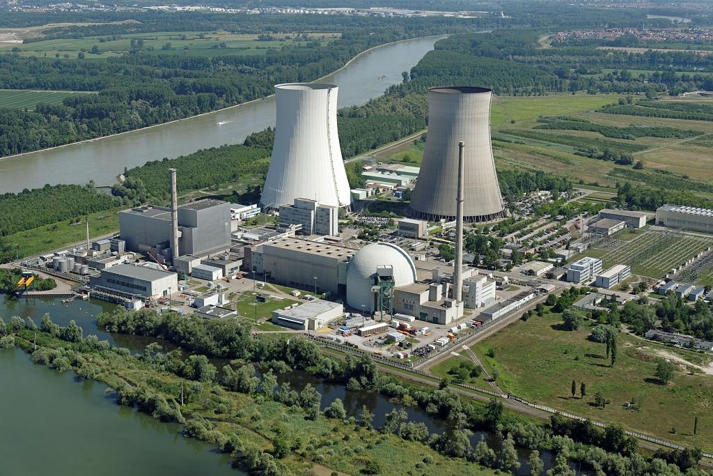 jaderná energie - Některé evropské státy zjišťují, že vyhlásit odklon od jaderné energie je mnohem snazší, než jej opravdu uskutečnit - Životní prostředí (Kernkraftwerk Philippsburg 300dpi  ENBW 1024) 2