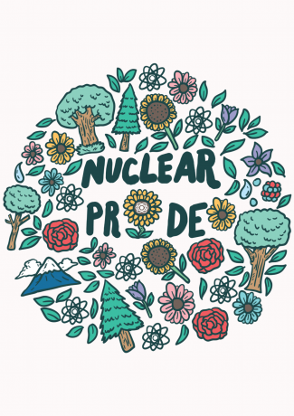 jaderná energie - V protijaderném Německu jsou bojovníci za přírodní prostředí připraveni bojovat za jádro - Hlavní (NuclearPrideLogo) 1
