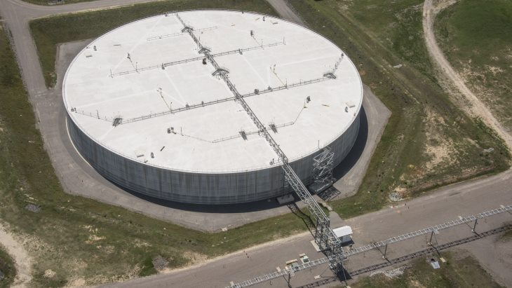 jaderná energie - První odpad převezen do mega úložiště v Savannah River - Zprávy (SDU 6 Savannah River Oct 2018 SRS) 1