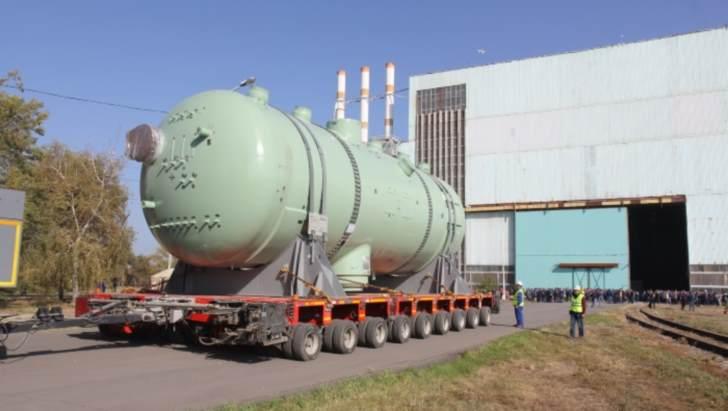 jaderná energie - Parogenerátory pro třetí blok elektrárny Kudankulam budou již brzy doručeny do elektrárny - Zprávy (Steam generator for Kudankulam 3 Rosatom 1) 1