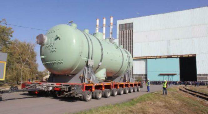 Parogenerátory pro třetí blok elektrárny Kudankulam budou již brzy doručeny do elektrárny