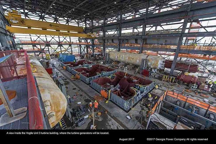 jaderná energie - Majitelé souhlasí spokračováním výstavby 3. a 4. bloku elektrárny Vogtle - Nové bloky ve světě (WCK 6251) 3