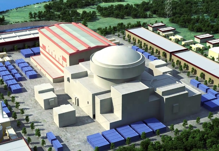 Čínská CNNC má několik stavenišť připravených pro výstavbu reaktorů