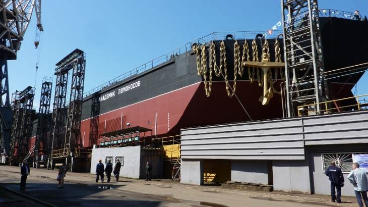 jaderná energie - První reaktor na plovoucí jaderné elektrárně byl spuštěn - Zprávy (Akademik Lomonosov November 2018 Afrikantov OKBM) 1