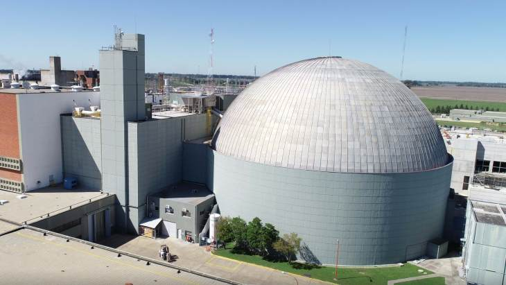 jaderná energie - Argentina učinila pokrok v přípravě na dlouhodobé provozování jaderných elektráren, sdělila MAAE - Zprávy (Atucha I plant NA SA 1) 1