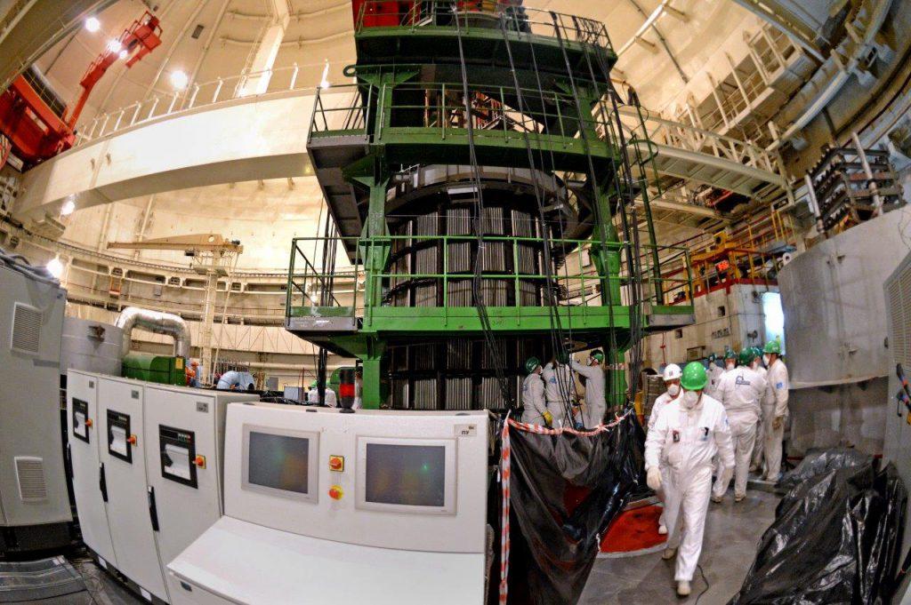 jaderná energie - Rosatom demonstroval unikátní technologii pro prodloužení provozu reaktorů velkého výkonu - Zprávy (Balakovská JE žíhání) 1