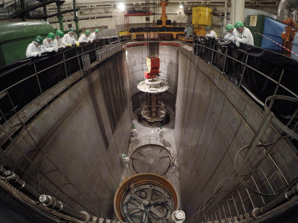 jaderná energie - Rosatom demonstroval unikátní technologii pro prodloužení provozu reaktorů velkého výkonu - Zprávy (Balakovská JE žíhání 3) 3