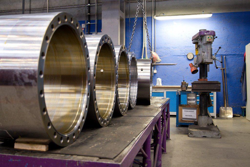 jaderná energie - MSA: Armatura pro jádro váží stejně jako její dokumentace - V Česku (DSC 4053 1) 1