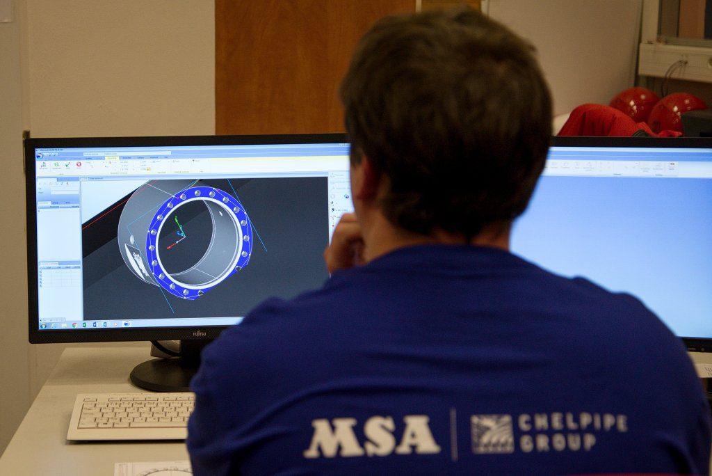 jaderná energie - MSA: Armatura pro jádro váží stejně jako její dokumentace - V Česku (DSC 4075 1) 3