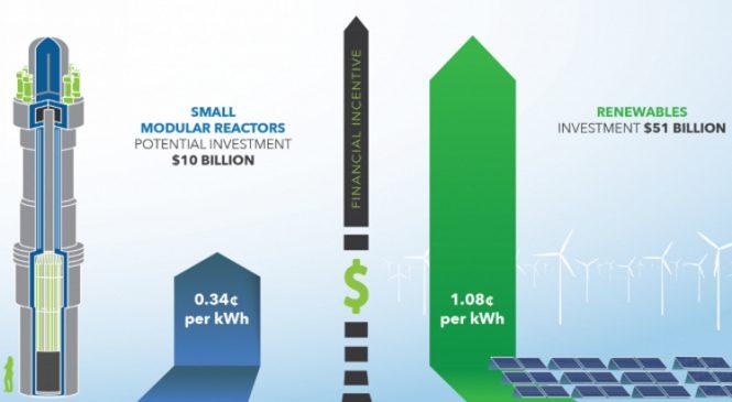 Zkušenosti obnovitelných zdrojů energie mohou pomoci vývoji amerických SMR reaktorů