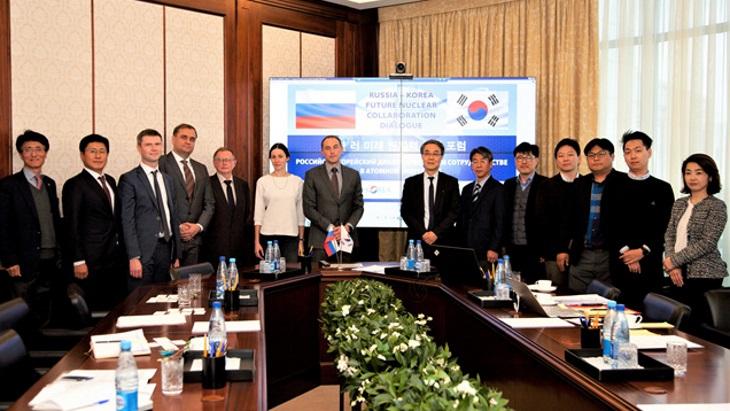 KAERI a Tenex budou spolupracovat při decommissioningu a nakládání s radioaktivními materiály