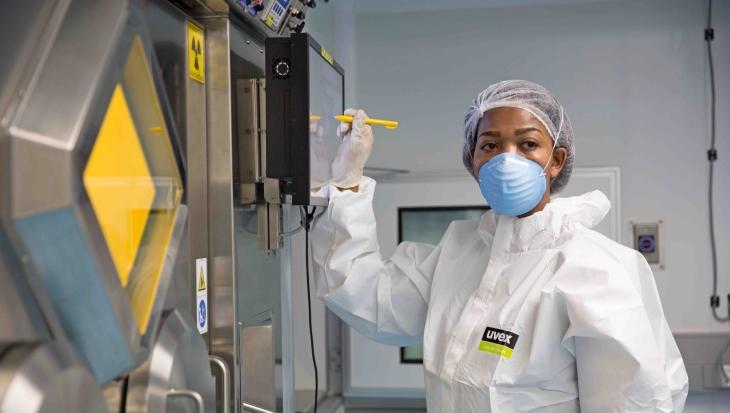 jaderná energie - Jižní Afrika pokračuje v produkci radioizotopů - Zprávy (Lutetium lab NTP) 1
