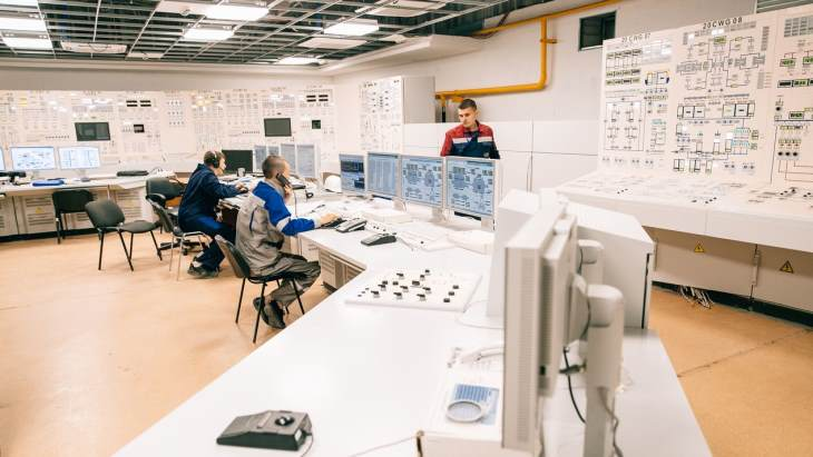 jaderná energie - Rusko dokončuje horké testy na druhém bloku Novovoroněžské II elektrárny - Zprávy (Novovoronezh II 2 control room Rosenergoatom) 1