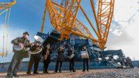 Jeřábová technologie pro výstavbu jaderných reaktorů