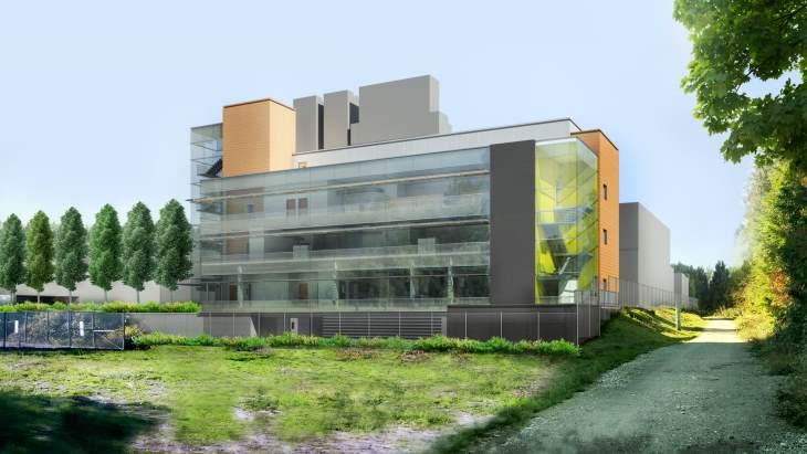 jaderná energie - Kanada staví pokročilé centrum radiologické medicíny - Zprávy (Trimpf IAMI preliminary concept Architecture 49) 1