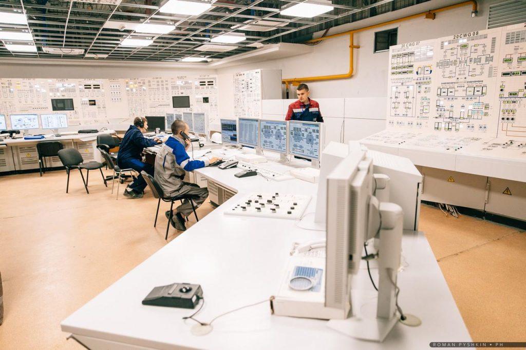 jaderná energie - JE Novovoroněžská II se připravuje na fyzikální spouštění - Zprávy (Velín druhého bloku Novovoroněžské JE II) 1