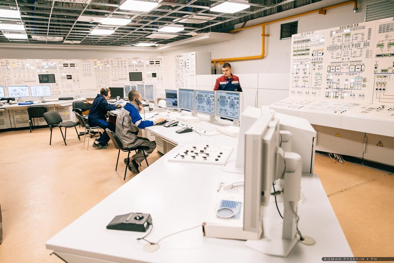 jaderná energie - JE Novovoroněžská II se připravuje na fyzikální spouštění - Zprávy (Velín druhého bloku Novovoroněžské JE II) 3