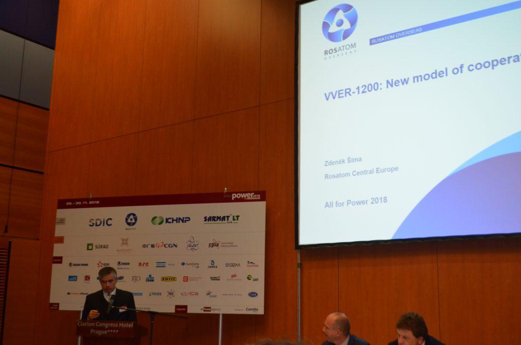 jaderná energie - Konference All for Power 2018: Rosatom zapojuje české firmy do realizace svých projektů - Zprávy (DSC 0589) 2