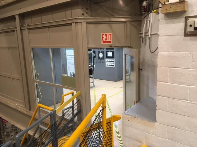 jaderná energie - EBR-I ve fotografiích - Ve světě (EBR 1 control room Will Davis) 7
