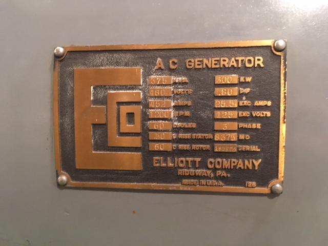 jaderná energie - EBR-I ve fotografiích - Ve světě (EBR 1 generator nameplate Will Davis) 3