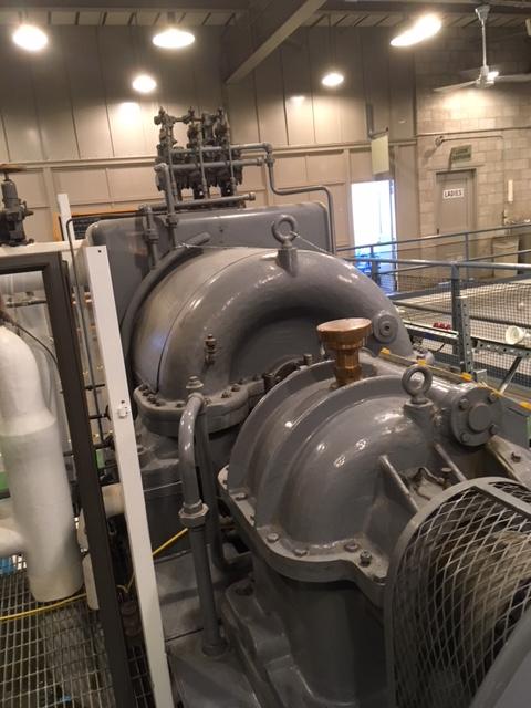 jaderná energie - EBR-I ve fotografiích - Ve světě (EBR 1 turbine generator) 6