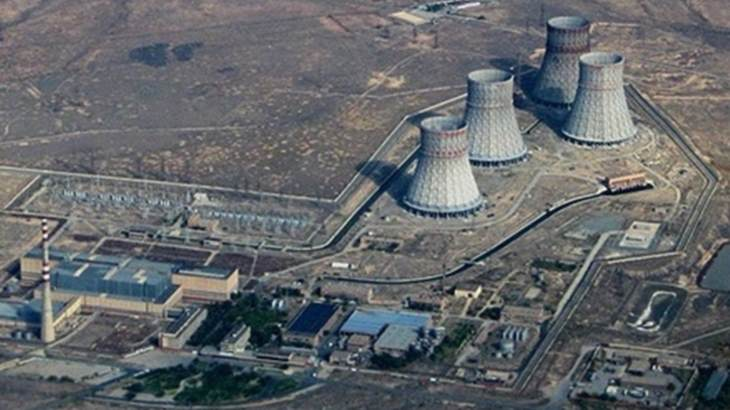 jaderná energie - IAEA přezkoumala bezpečnost dlouhodobého využívání Arménské jaderné elektrárny - Zprávy (Metsamor aerial ANPP) 1