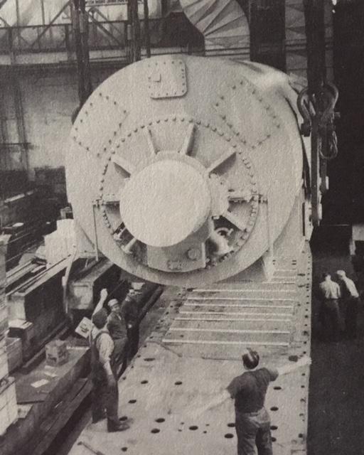 jaderná energie - Jádro v síti! Shippingport, 1957 - Fotografie (Shippingport Generator at W) 5