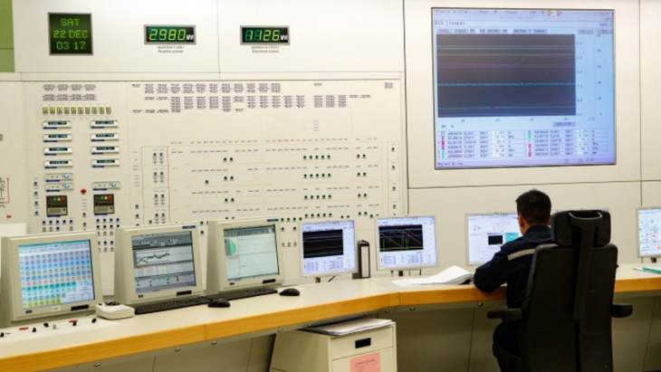 jaderná energie - Čtvrtý blok jaderné elektrárny Tchien-wan vstoupil do komerčního provozu - Zprávy (Tianwan 4 control room Rosatom) 2