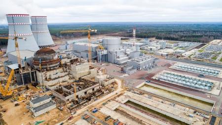 Leningradská jaderná elektrárna v provozu