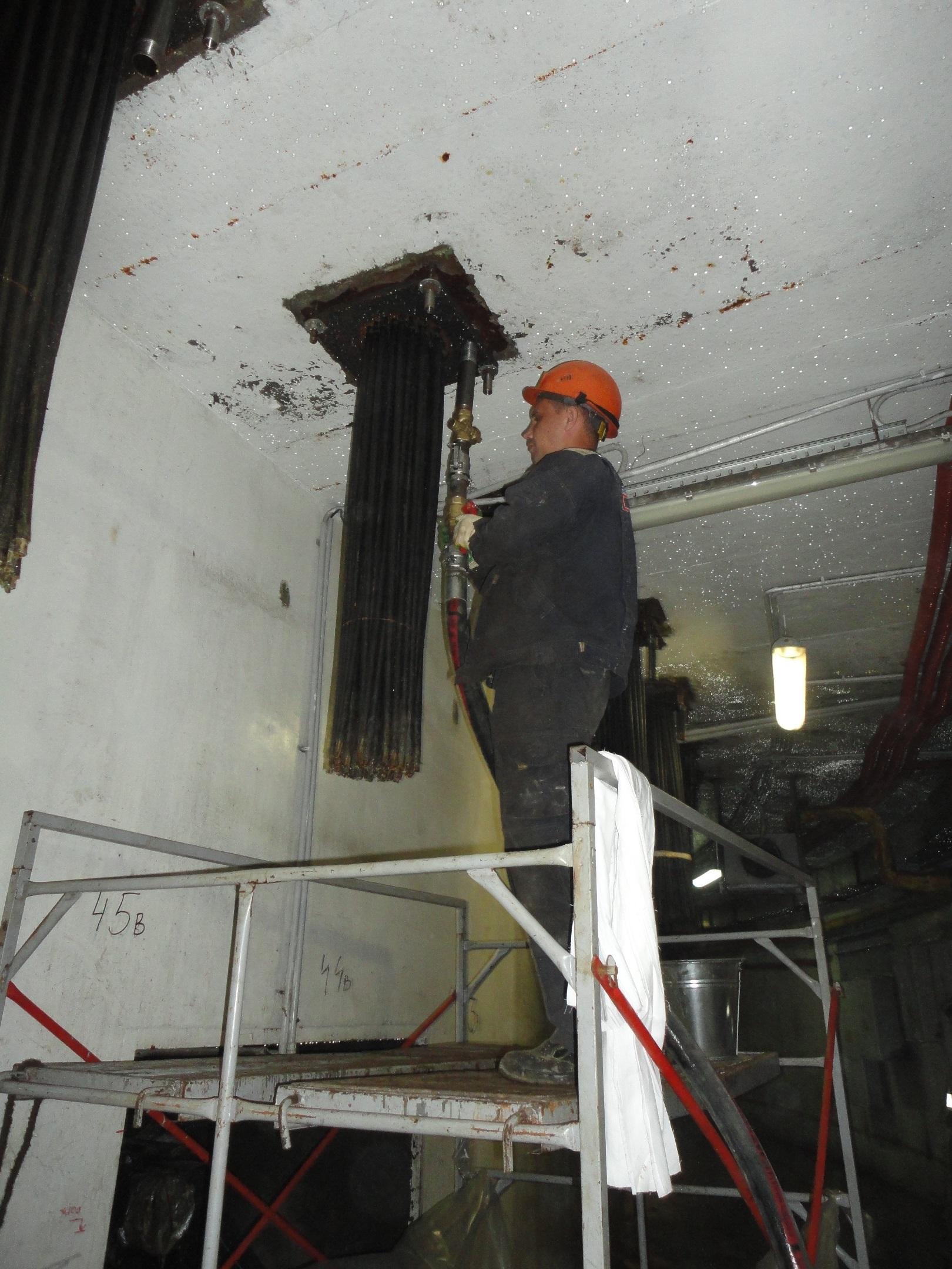 V Leningradské JE-II se připravují na předepnutí kontejmentu