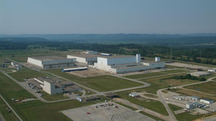 jaderná energie - Společnost Centrus si vybrala projekt pro obohacování paliva HALEU - Zprávy (American Centrifuge Plant Piketon Centrus) 1