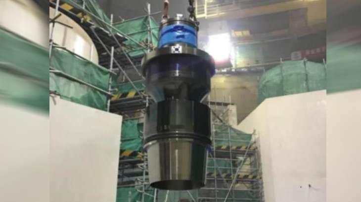 jaderná energie - Milník při instalaci vybavení na blocích Hualong One - Zprávy (Fuqing 5 main reactor pump January 2019 CNNC) 1