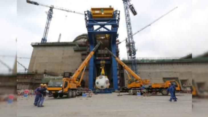 jaderná energie - Milník při instalaci vybavení na blocích Hualong One - Zprávy (Fuqing 6 steam generator December 2018 CNNC) 2