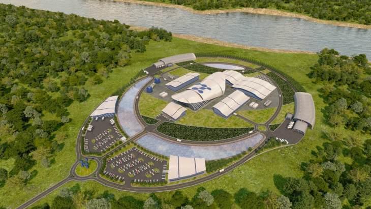 jaderná energie - Projekt NuScale je brán v potaz pro použití v Jordánsku - Zprávy (NuScale SMR plant design NuScale Power) 1