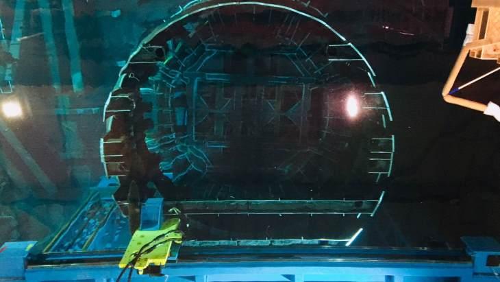 jaderná energie - Rozebírání vnitřních částí reaktoru druhého bloku elektrárny Oskarshamn je dokončeno - Zprávy (Segmentation OKG2) 1