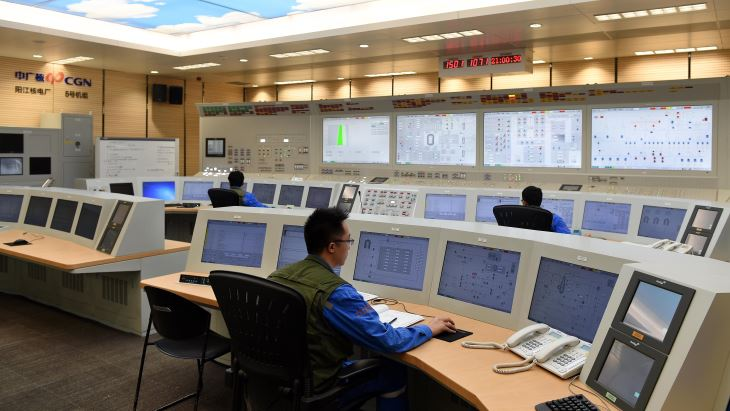 jaderná energie - Při náboru personálu jaderných elektráren je třeba kreativita - Zprávy (Yangjiang 5 control room Yangjiang Nuclear Power Co 2018) 1