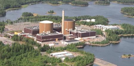 Jaderná elektrárna Loviisa zajistila 11 % elektřiny Finska v roce 2018