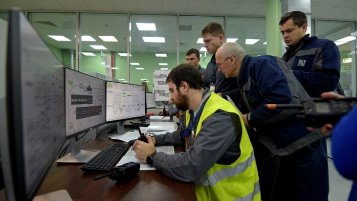 jaderná energie - Confinement nad Černobylem začíná fungovat - Zprávy (Chernobyl NSC system tests January 2019 ChNPP) 1
