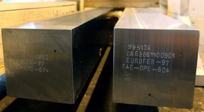 NRG ozařuje ocelové vzorky pro použití v reaktoru ITER