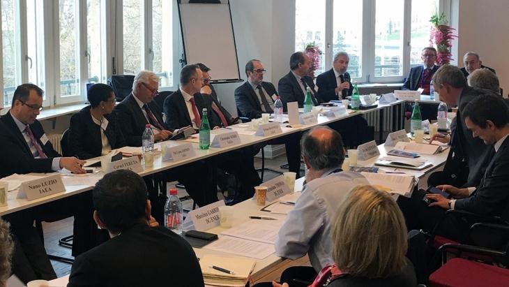 jaderná energie - Evropská unie a MAAE stanovila priority spolupráce - Zprávy (IAEA EU Senior Officials Meeting 2019 IAEA A Perlin) 1