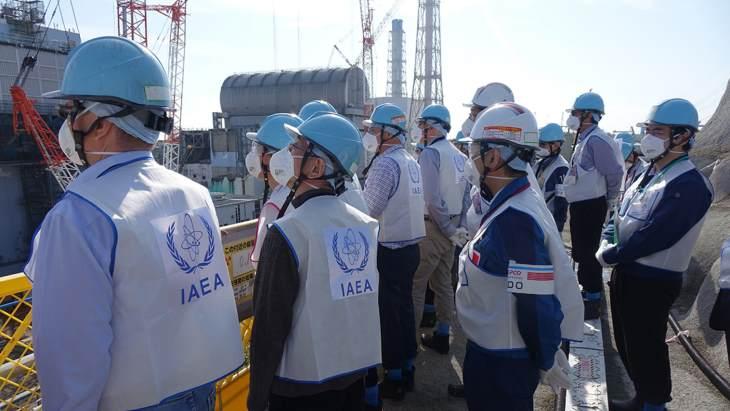 jaderná energie - MAAE vydává zprávy o pokroku ve Fukušima Dajiči - Zprávy (IAEA fourth mission to Fukushima Daiichi November 2018 J Donovan IAEA 1) 1