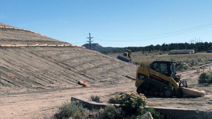 jaderná energie - NRC hledá fondy pro čištění jaderného dědictví - Zprávy (NE Church Rock uranium mine remediation 2009 US EPA) 1