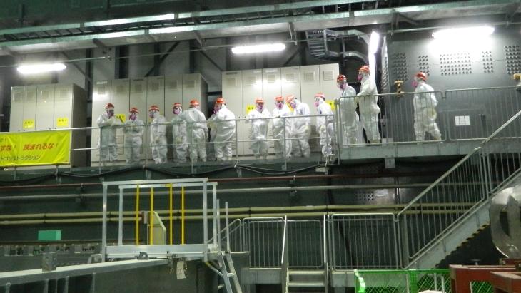 jaderná energie - NRC vydává konečná poučení z Fukušimy - Zprávy (NRC visit to Fukushima Daaichi 2014 NRC) 3